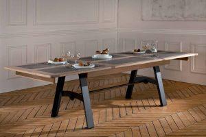 sieges marco - table detail detre170m deauvil
