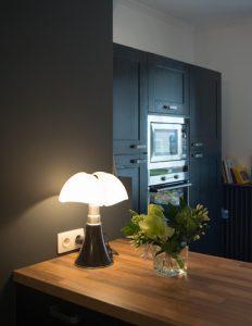 sieges marco - lampe pipistrello mini marron fonce