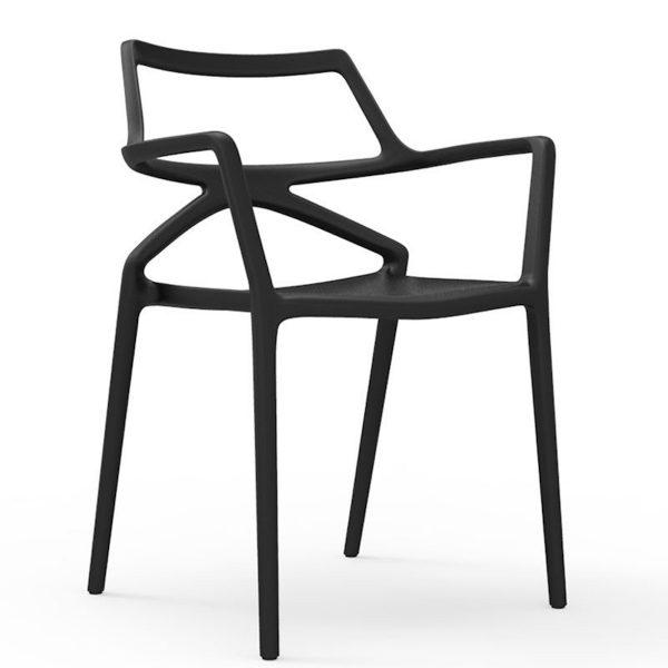 sieges marco - chaise delta noire