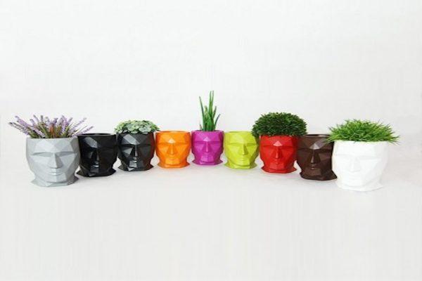 sieges marco - pot de fleur couleur